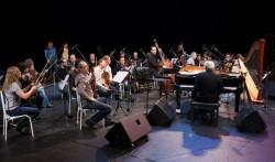 M. Legrand, F. Laizeau, C. Michel et l'orchestre Moscow Virtuosi