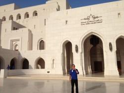 Automne 2013, concert Legrand au nouvel opéra du Sultanat d'Oman