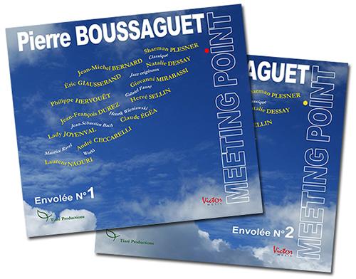 Meeting Point Envolées 1 & 2 Les nouveaux CD de Pierre Boussaguet